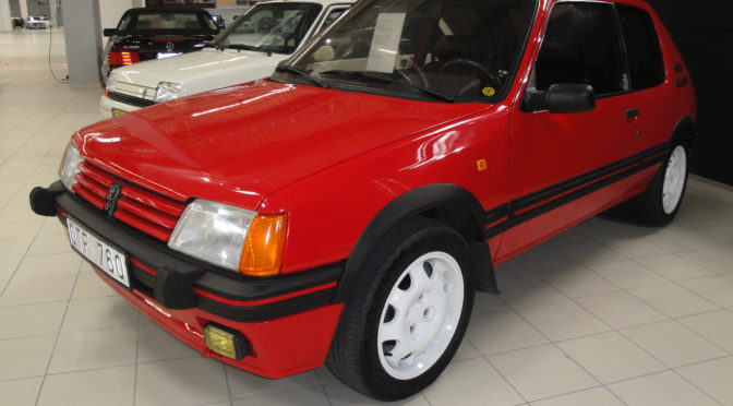 Peugeot 205 GTI 1990 – 49999PLN – Warszawa