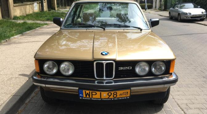 BMW 320/6 E21 1981 – 45000PLN – Sopot