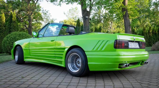 BMW 325i Cabriolet Rieger GTO E30 1988 – SPRZEDANE