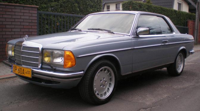 Mercedes 280 CE C123 1984 – SPRZEDANY