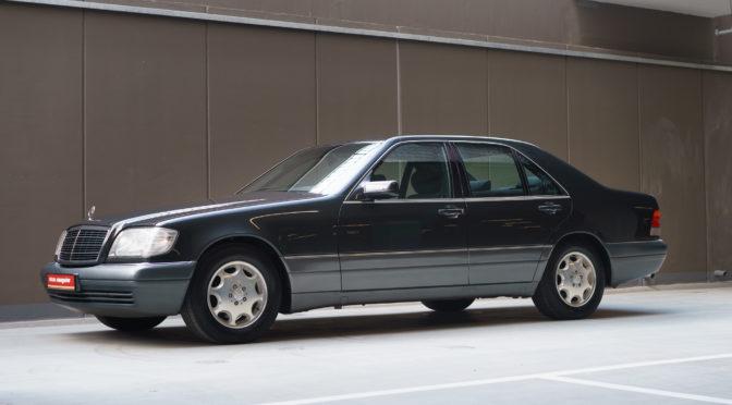 Mercedes S 320 W140 1995 – SPRZEDANY