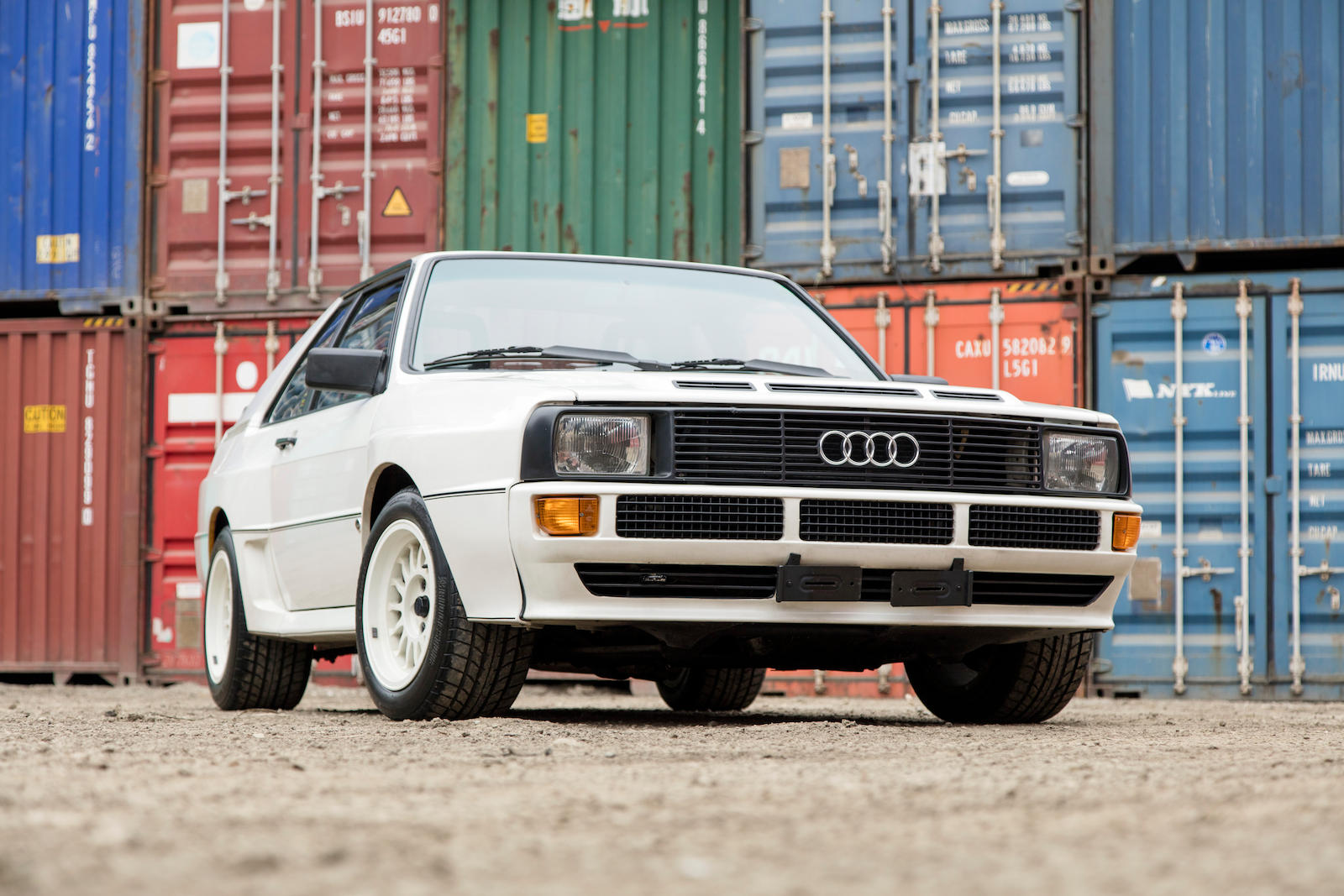 audi sport quattro s1 1985 sprzedane gie da klasyk w. Black Bedroom Furniture Sets. Home Design Ideas