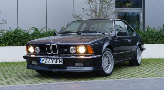 BMW M635CSi E24 1984 – SPRZEDANE