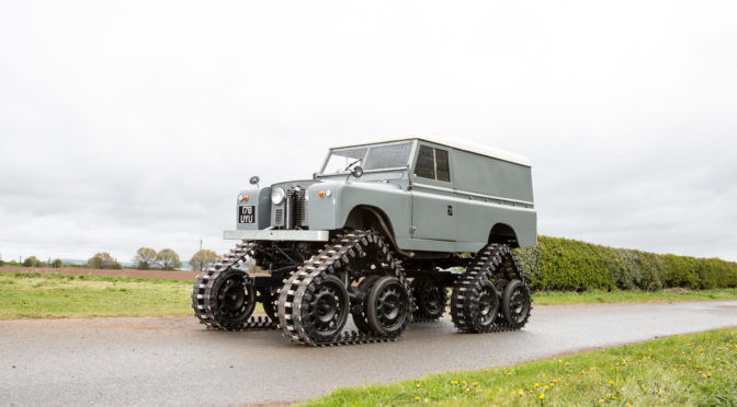Land Rover Series II 109 1958 – UK