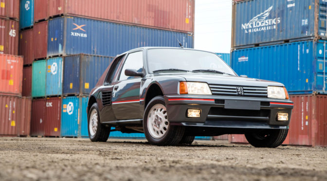 Peugeot 205 Turbo 16 1985 – SPRZEDANY