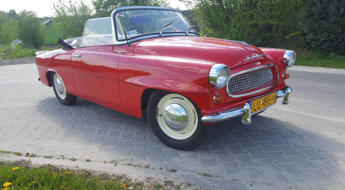 Skoda Felicia Cabrio 1959 – SPRZEDANA
