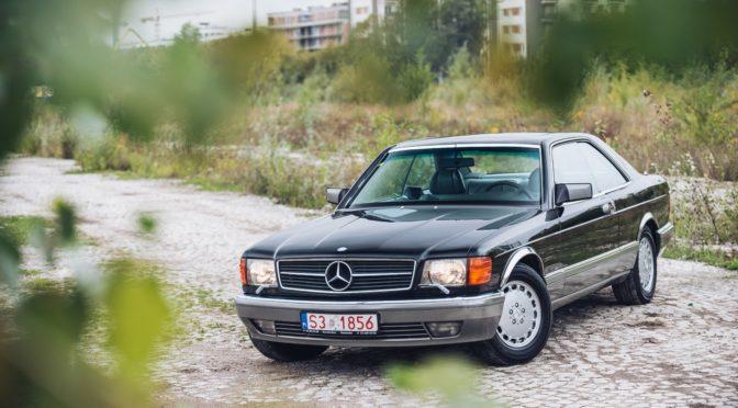 Mercedes 560 SEC C126 1986 – SPRZEDANY