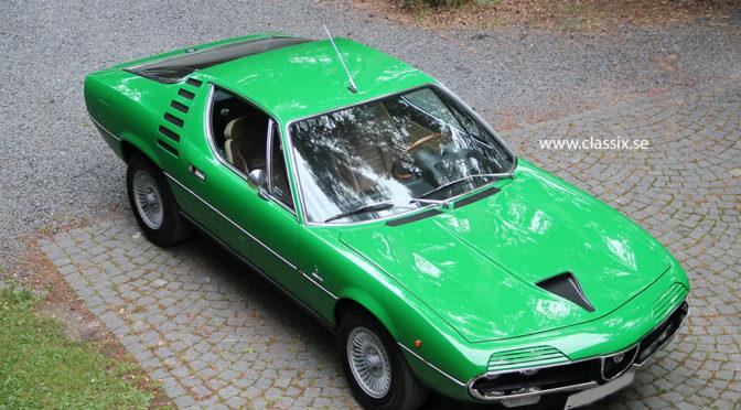 Alfa Romeo Montreal 1971 – ok. 293000PLN – Szwecja