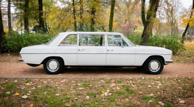Mercedes 230.6 long V114 1973 – 39900PLN – Łeba