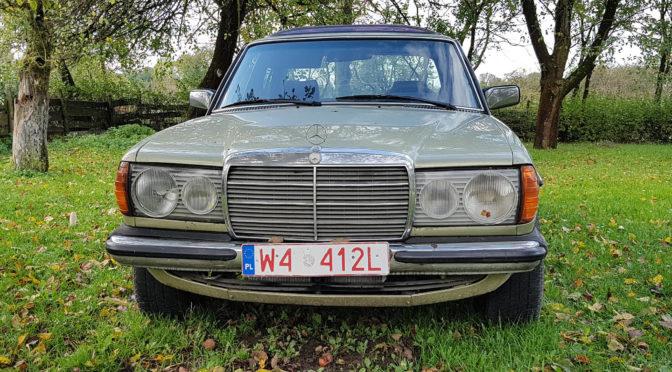 Mercedes 280 W123 1981 – 25000PLN – Nasielsk