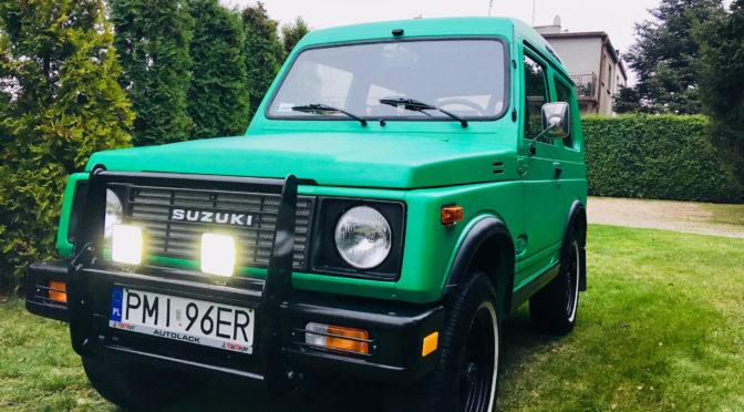 Suzuki SJ 413 1987 – 21500PLN – Września