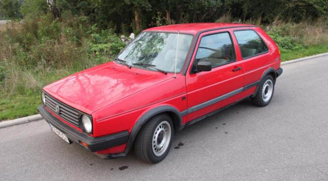 Volkswagen Golf Memphis Mk2 1988 – 4600PLN – Katowice
