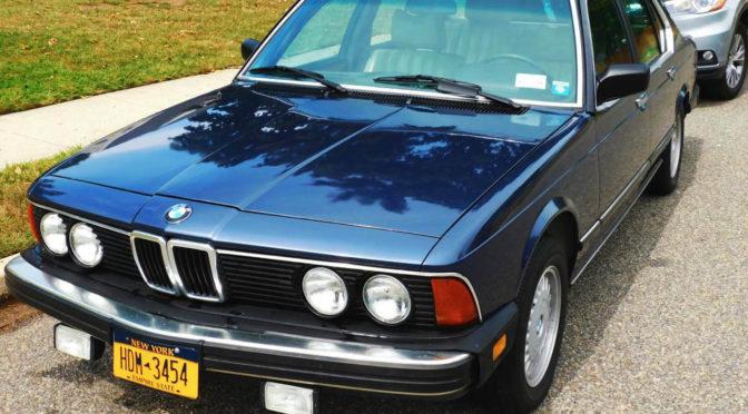BMW 735iA E23 1984 – 44444PLN – Warszawa