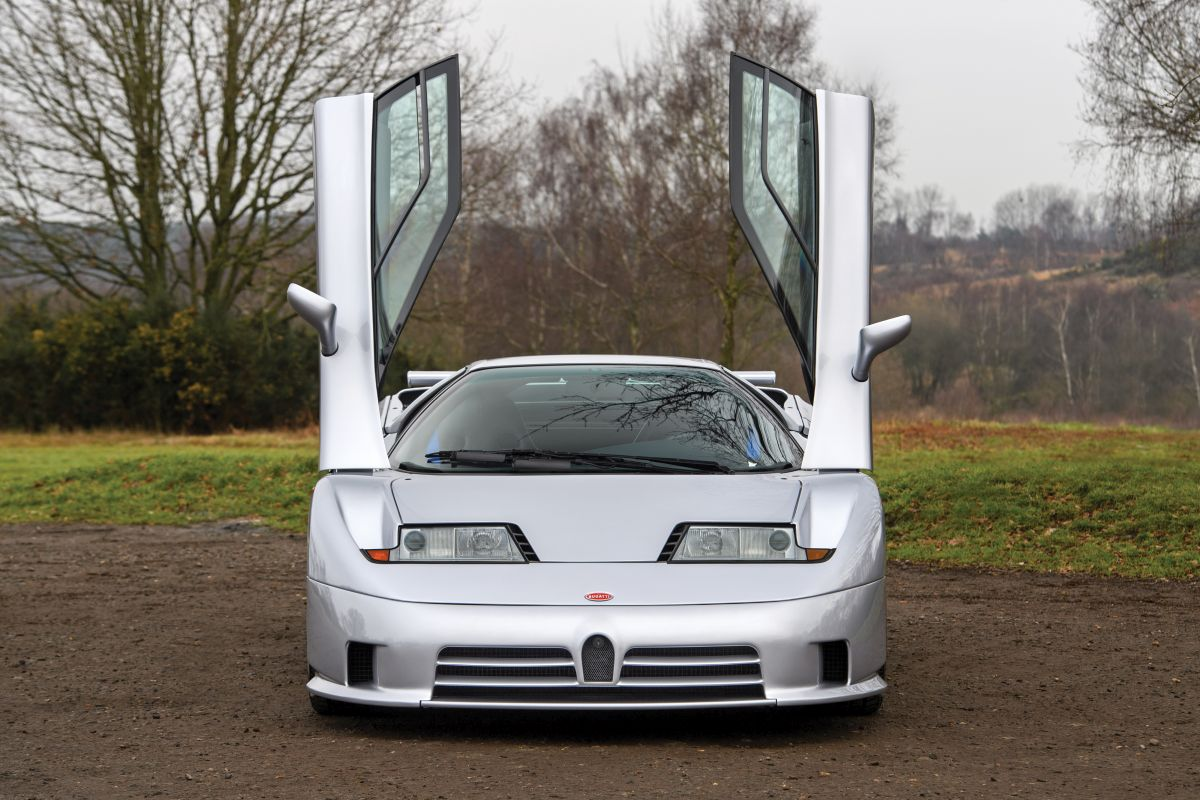 bugatti eb110 super sport 1993 sprzedane gie da klasyk w. Black Bedroom Furniture Sets. Home Design Ideas
