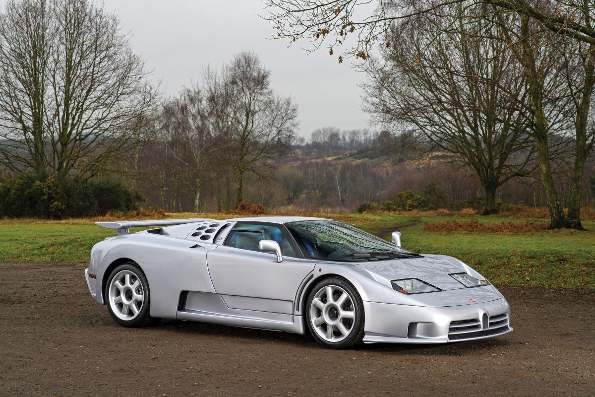 Bugatti Eb110 Super Sport 1993 Sprzedane Giełda Klasyk 243 W