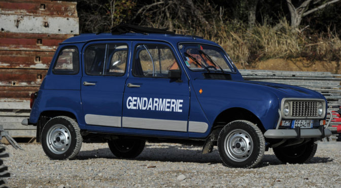 Renault Sinpar 4L 4×4 1986 – SPRZEDANE