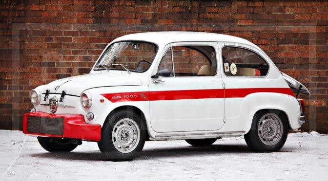 Fiat-Abarth 1000 TC Berlina 1962 – SPRZEDANY