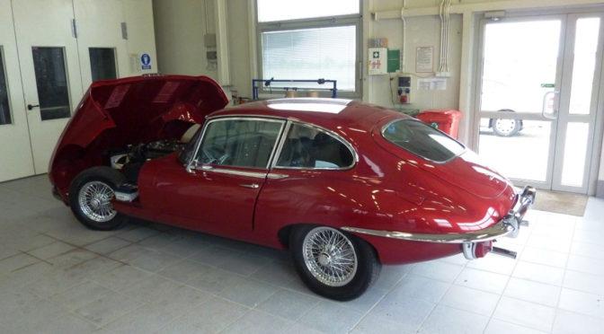 Jaguar E-Type 2+2 S2 4.2 1970 – 205000PLN – Białystok
