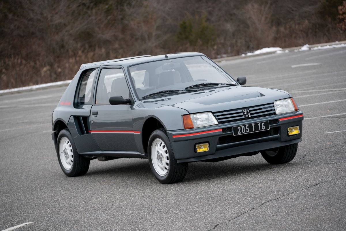 peugeot 205 turbo 16 1984 sprzedany gie da klasyk w. Black Bedroom Furniture Sets. Home Design Ideas