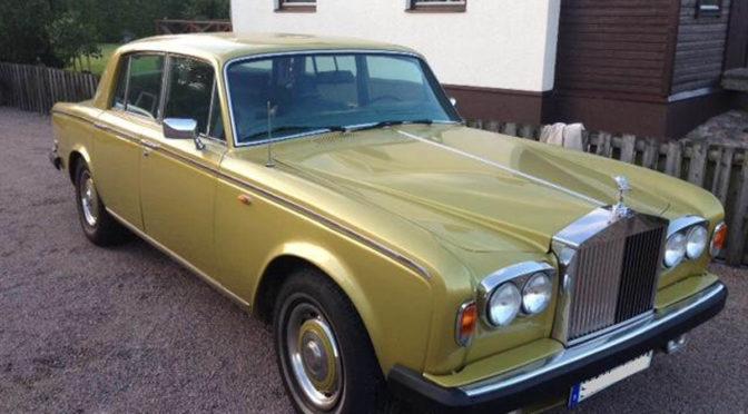 Rolls Royce Silver Shadow II 1977 – 75000PLN – Szwecja