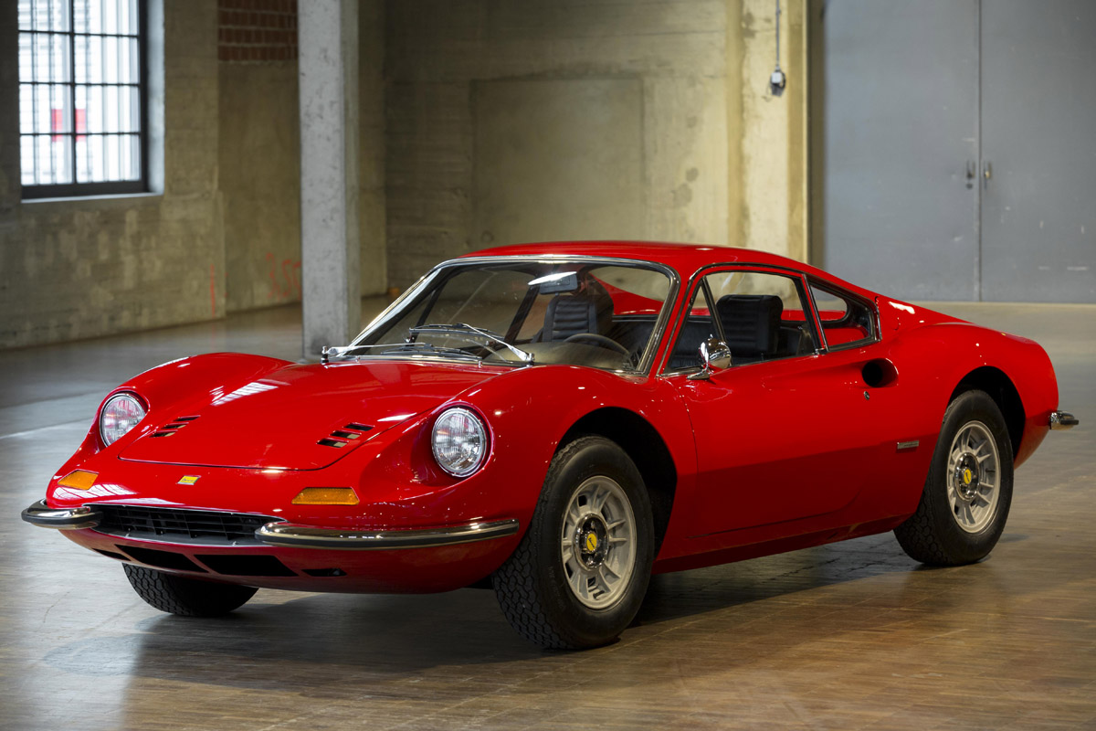 2018 Ferrari Dino >> Dino 246 GT 1971 - SPRZEDANE - Giełda klasyków