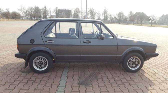 Volkswagen Golf Mk1 GTD 1982 – 29000PLN – Elbląg