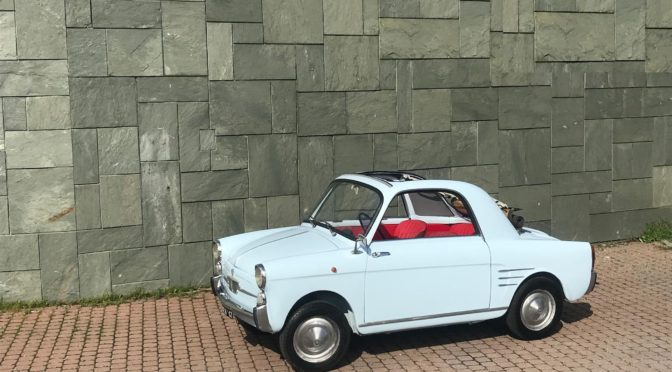 Autobianchi Bianchina Trasformabile 1959 – SPRZEDANE