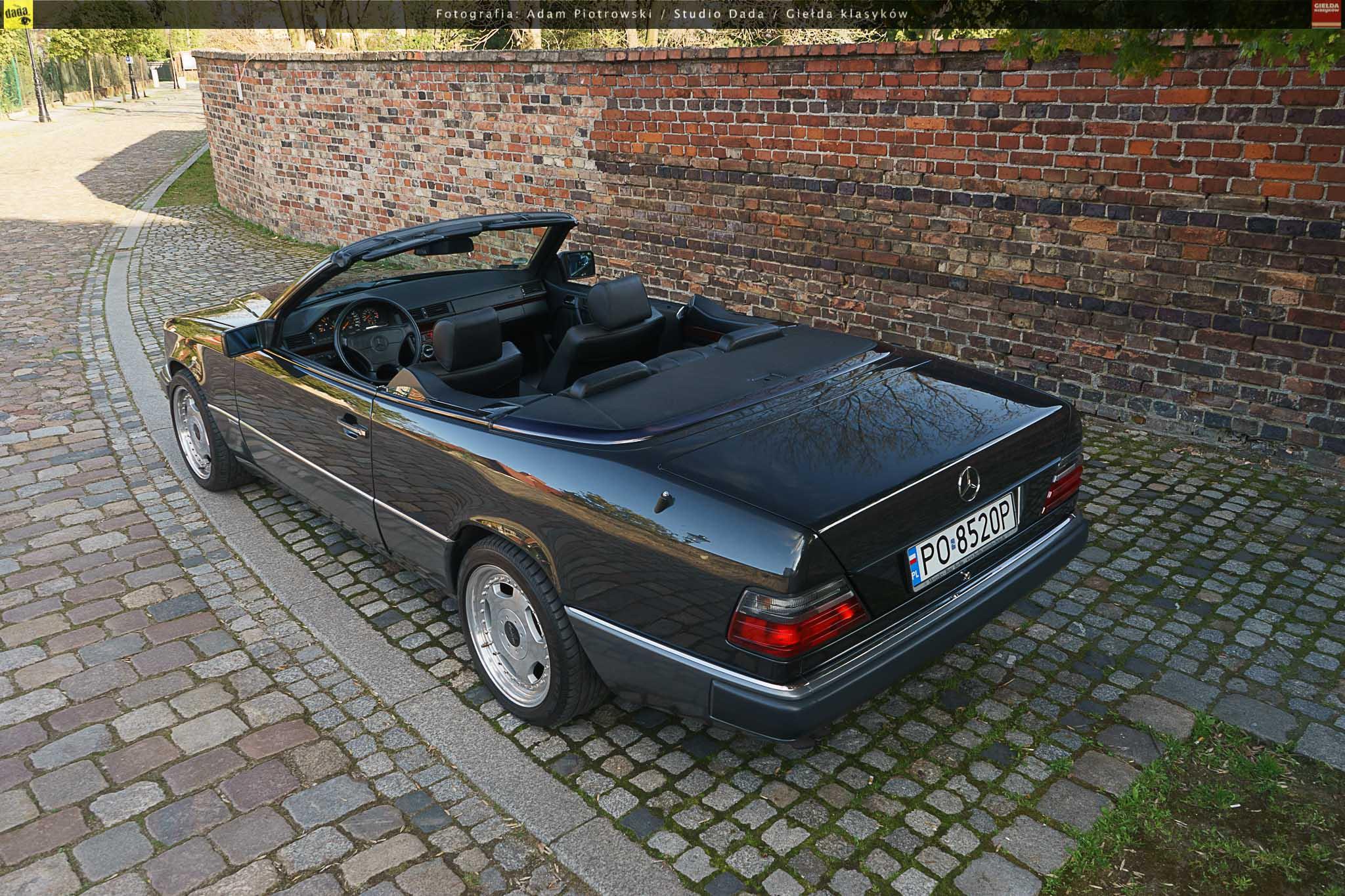 mercedes 300 ce 24 sportline cabriolet a124 1993 119000 pln pozna gie da klasyk w. Black Bedroom Furniture Sets. Home Design Ideas