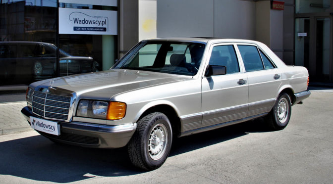 Mercedes 380 SE W126 1984 – 39900PLN – Gaj