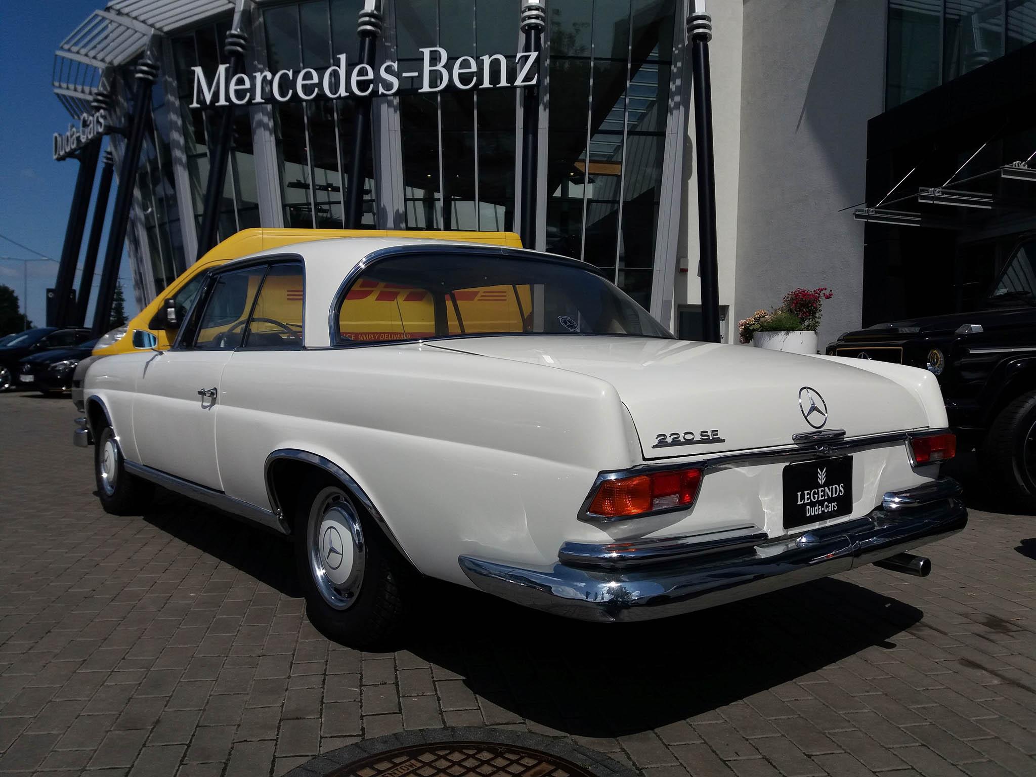 mercedes 220 seb coupe w111 1964 149000 pln pozna. Black Bedroom Furniture Sets. Home Design Ideas