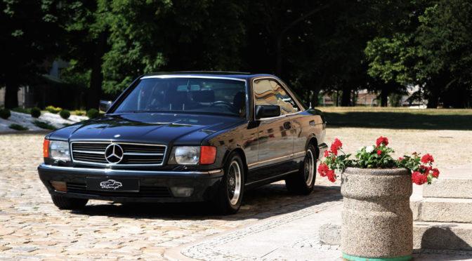 Mercedes 560 SEC C126 1987 – SPRZEDANY