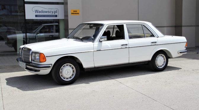 Mercedes 280E W123 1979 – SPRZEDANY