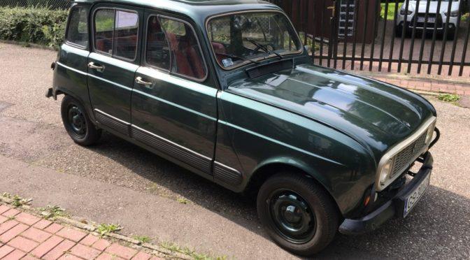 Młodzieńczy Renault 4 GTL 1985 - 10000 PLN - Słupsk - Giełda klasyków ZY38