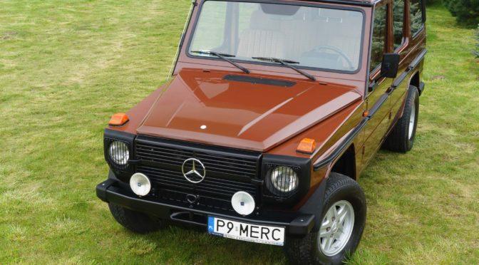 Mercedes 230 GE W460 1983 – SPRZEDANY