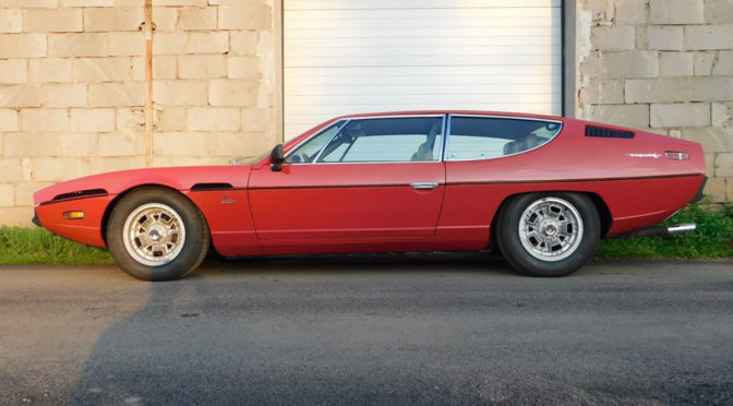 Lamborghini 400 GT Espada 1971 – 496000PLN – Mierzęcice