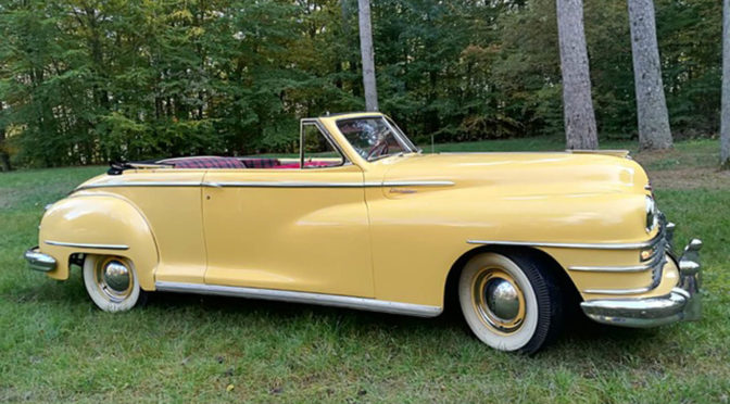 Chrysler Windsor Convertible 1947 – 150000 PLN – Złotów