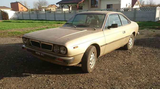 Lancia Beta Coupe 1981 – SPRZEDANA