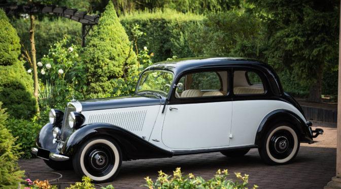 Mercedes 170 V W136 1938 – 350000PLN – Wągrowiec