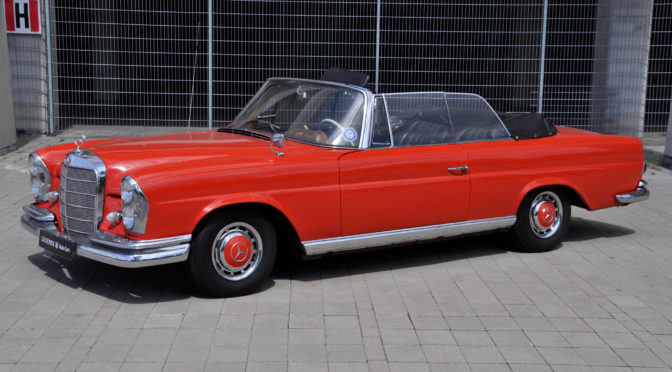 Mercedes 220 SE Cabriolet W111 1964 – 269000PLN – Poznań