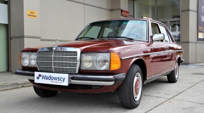 Mercedes 240D W123 1980 – SPRZEDANY