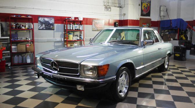 Mercedes 280 SLC C107 1980 – 120000PLN – Warszawa