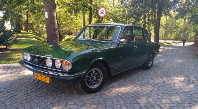 Triumph 2500 TC Saloon 1975 – 34900PLN – Żarów