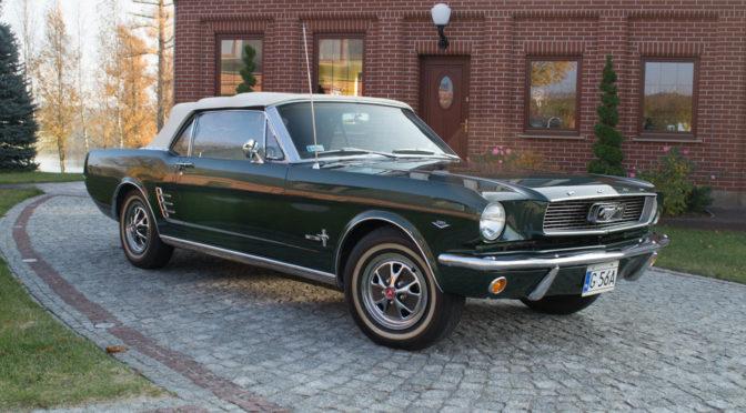 Ford Mustang Convertible 1966 – 180000PLN – Kiełpino