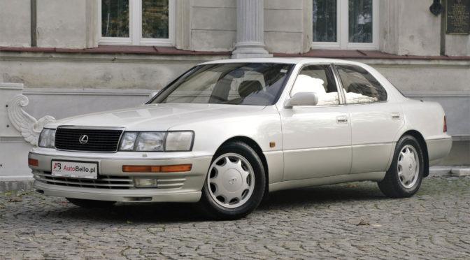 Lexus LS 400 1993 – SPRZEDANY