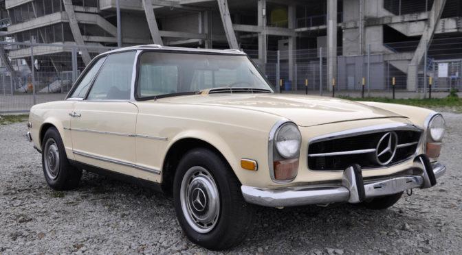 Mercedes 280 SL Pagoda W113 1970 – 244770PLN – Poznań