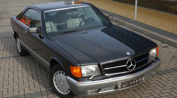 Mercedes 420 SEC C126 1986 – SPRZEDANY