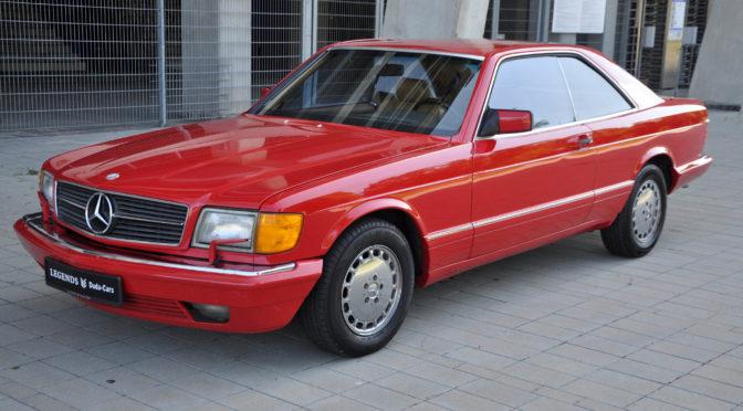 Mercedes 560 SEC C126 1989 – SPRZEDANY