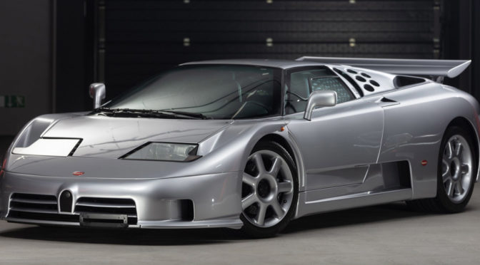 Bugatti EB110 Super Sport 1994 – SPRZEDANE