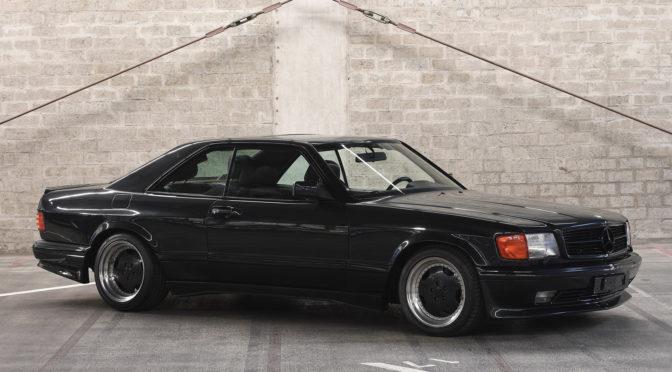 Mercedes 560 SEC AMG 6.0 Wide Body 1989 – SPRZEDANY