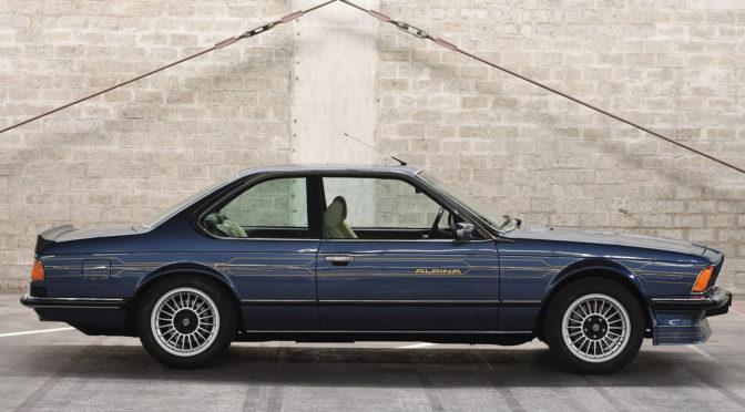 BMW Alpina B7 Turbo 1985 – SPRZEDANE